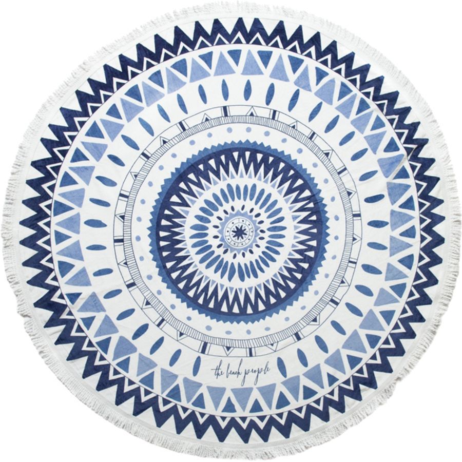 The Beach People Majorelle Round Towel