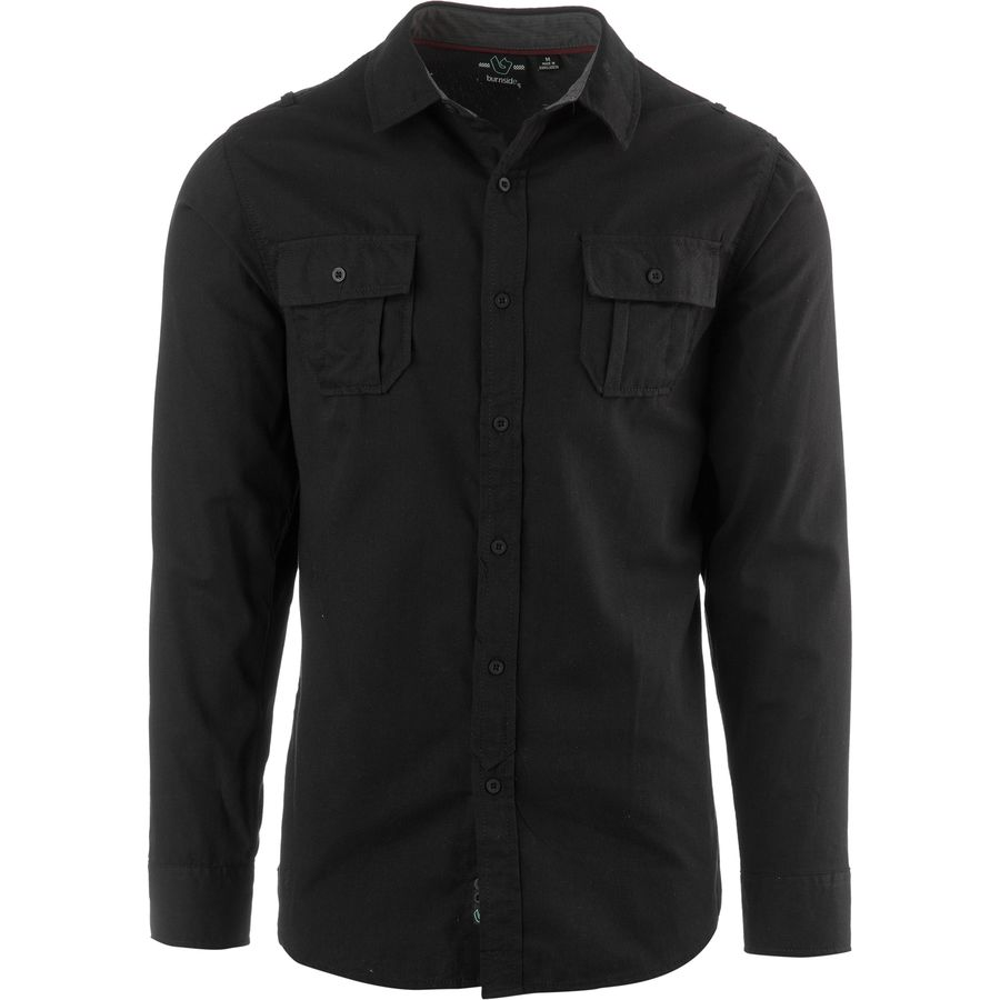 Burnside Solid DP Button Down Long-Sleeve Shirt - Men's - Up to 70 ...