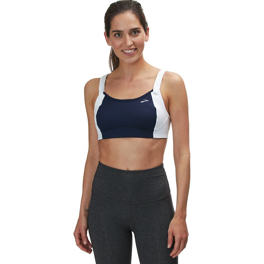 40e4989923d92 Brooks - Fiona Sports Bra - Women s - Navy White
