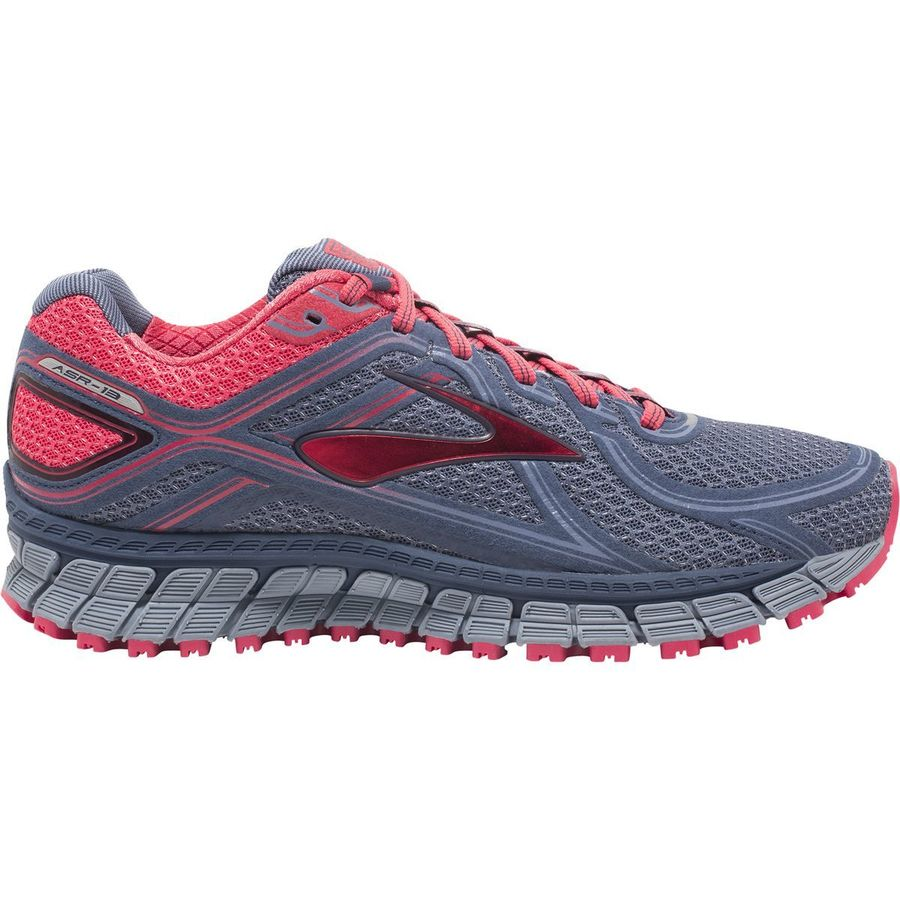 Brooks - Adrenaline ASR 13 Trail Running Shoe - Women's - Crown Blue/ Teaberry/