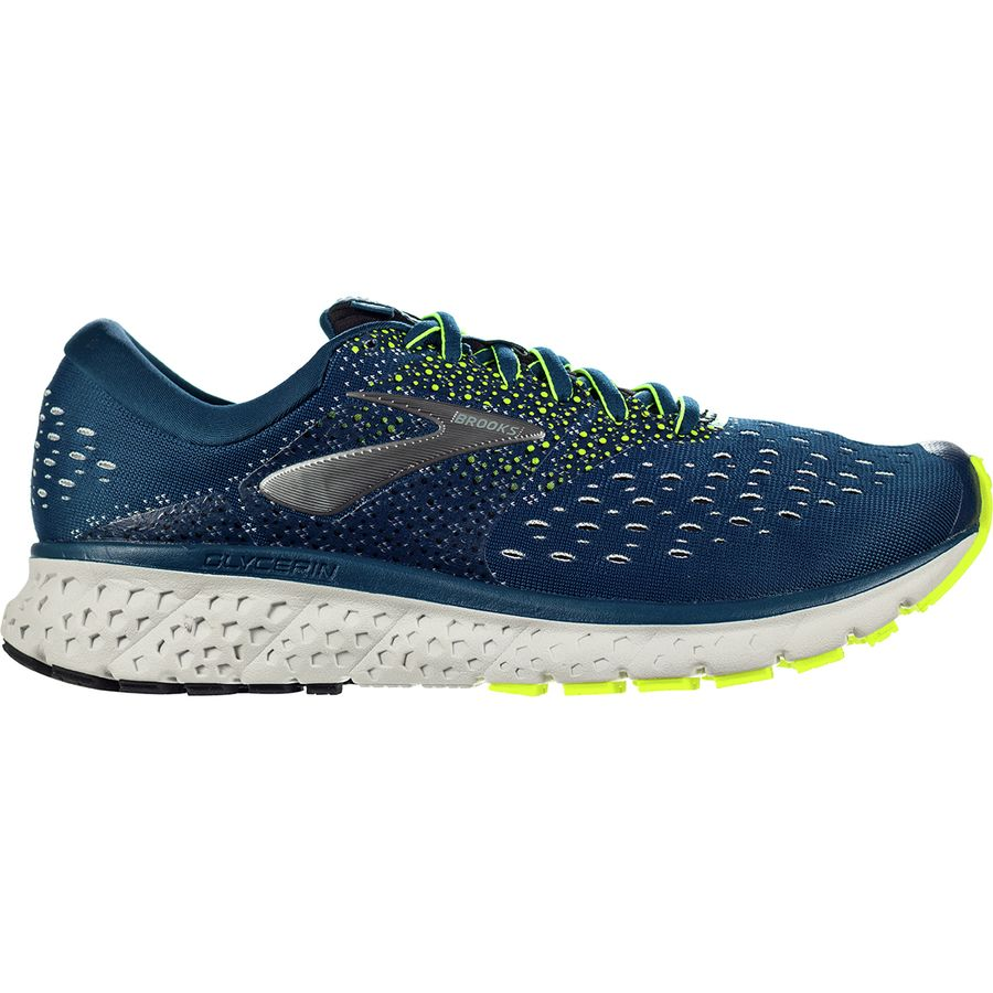 ede4420b3ea22 Brooks - Glycerin 16 Running Shoe - Men s - Blue Nightlife Black