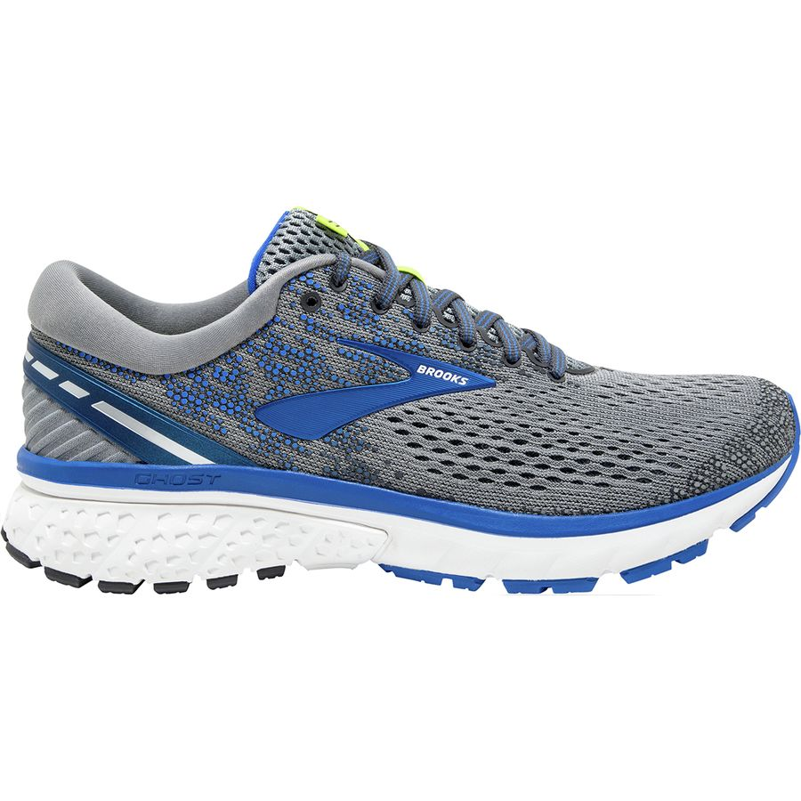 35436e13c4e Brooks - Ghost 11 Running Shoe - Men s - Grey Blue Silver
