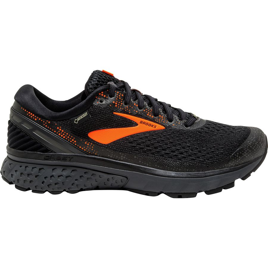9b7e27664a4e Brooks - Ghost 11 GTX Running Shoe - Men s - Black Orange Ebony