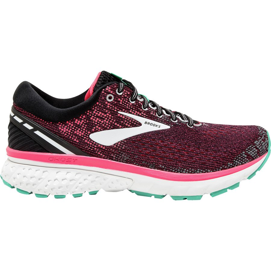 9ce01fb6c32 Brooks - Ghost 11 Running Shoe - Women s - Pink Black Aqua