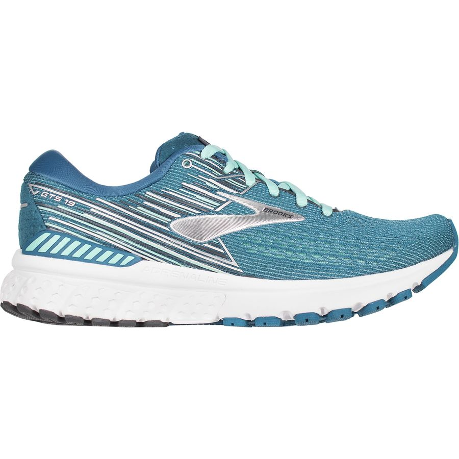 11681fa3c39 Brooks - Adrenaline GTS 19 Running Shoe - Women s - Blue Aqua Ebony