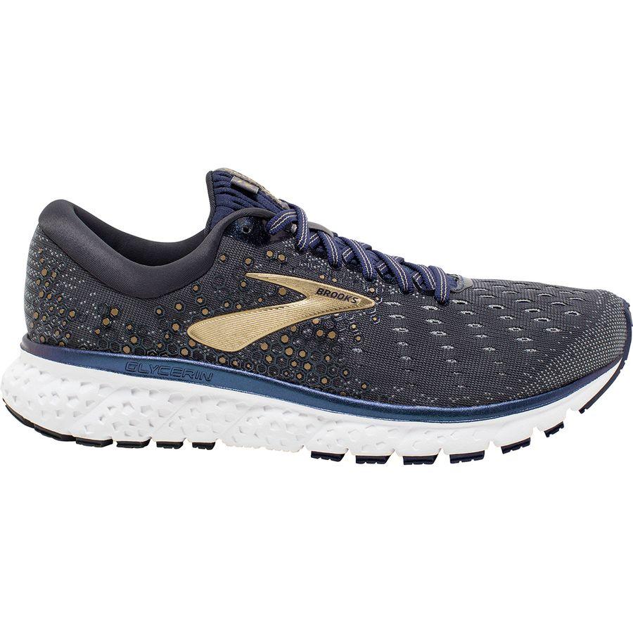 0666d5187dff Brooks - Glycerin 17 Running Shoe - Men s - Grey Navy Gold