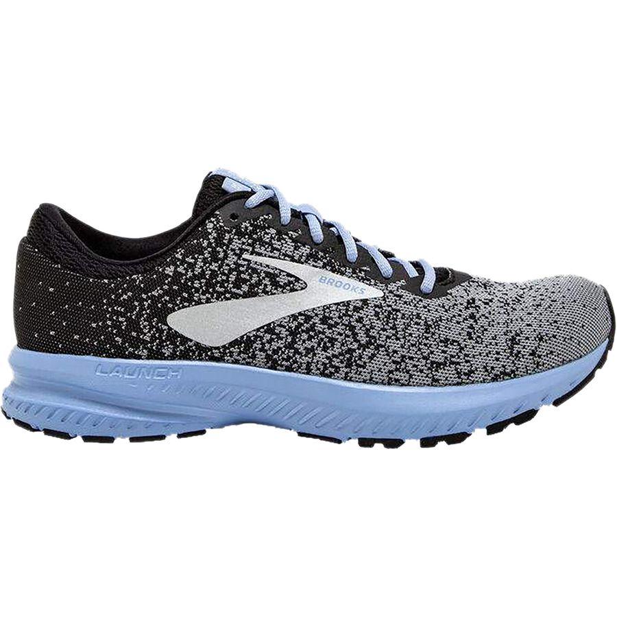 best loved 27b67 bd5bd Brooks - Launch 6 Running Shoe - Women s - Black Primer Bel Air Blue