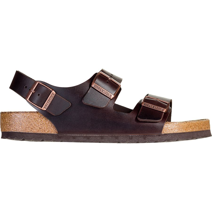 1ec7b0f5645c Birkenstock - Milano Soft Footbed Sandal - Men s - Brown Amalfi Leather