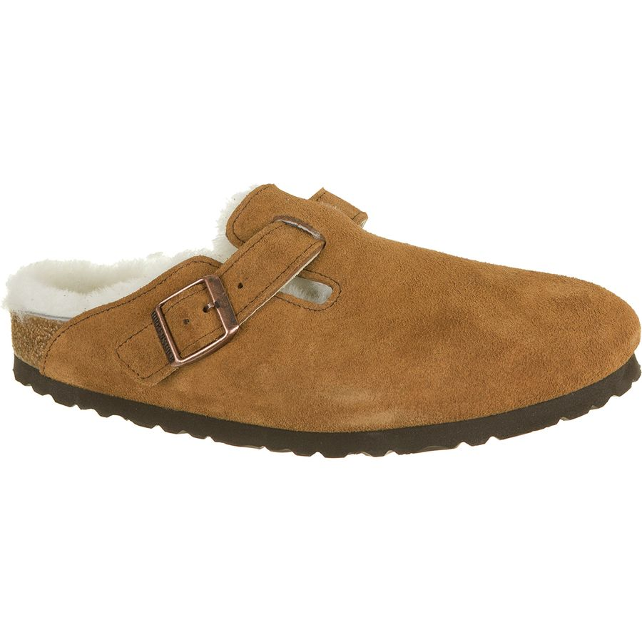 825591050 Birkenstock Boston Shearling Lined Narrow Shoe - Women's ...