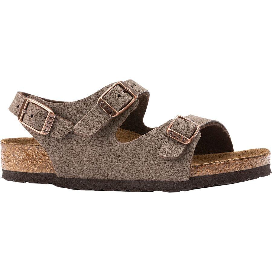 d453465c84fd Birkenstock - Roma Sandal - Kids  - Mocha Birkibuc