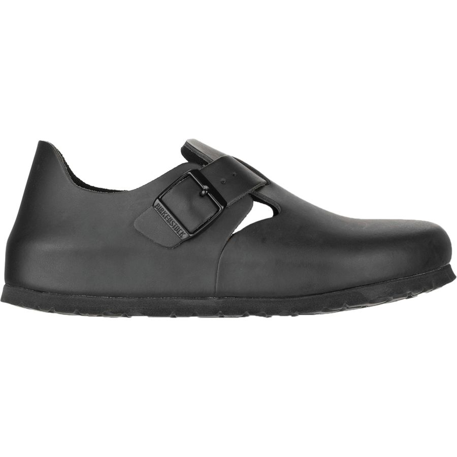 Birkenstock London Soft Footbed Leather Narrow Shoe - Womens