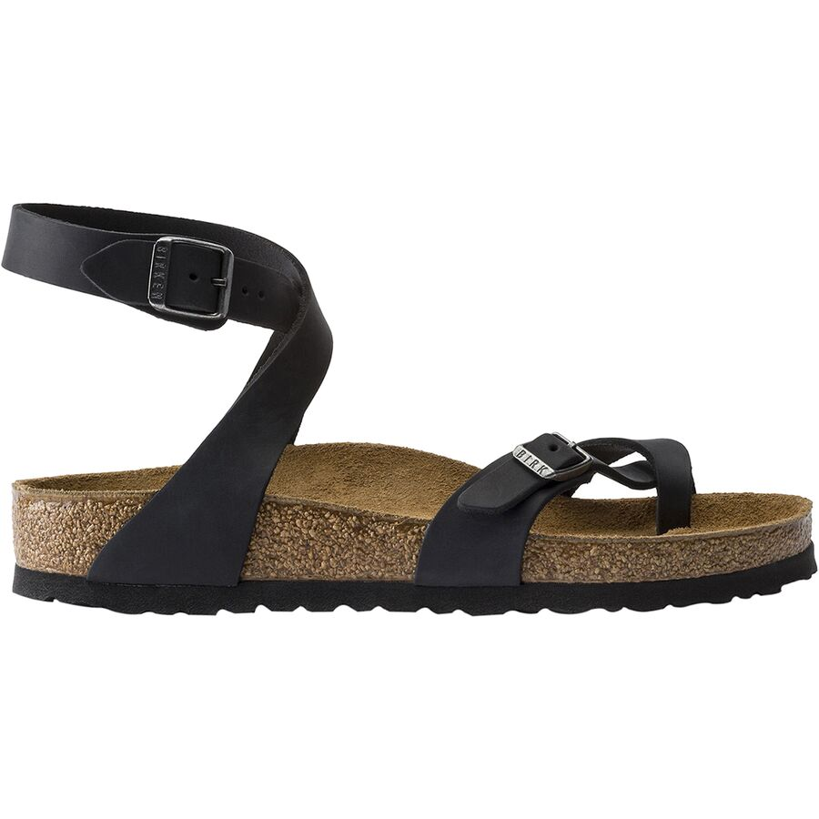 52c2cab37aff Birkenstock - Yara Limited Edition Sandal - Women s - Black Oiled Leather