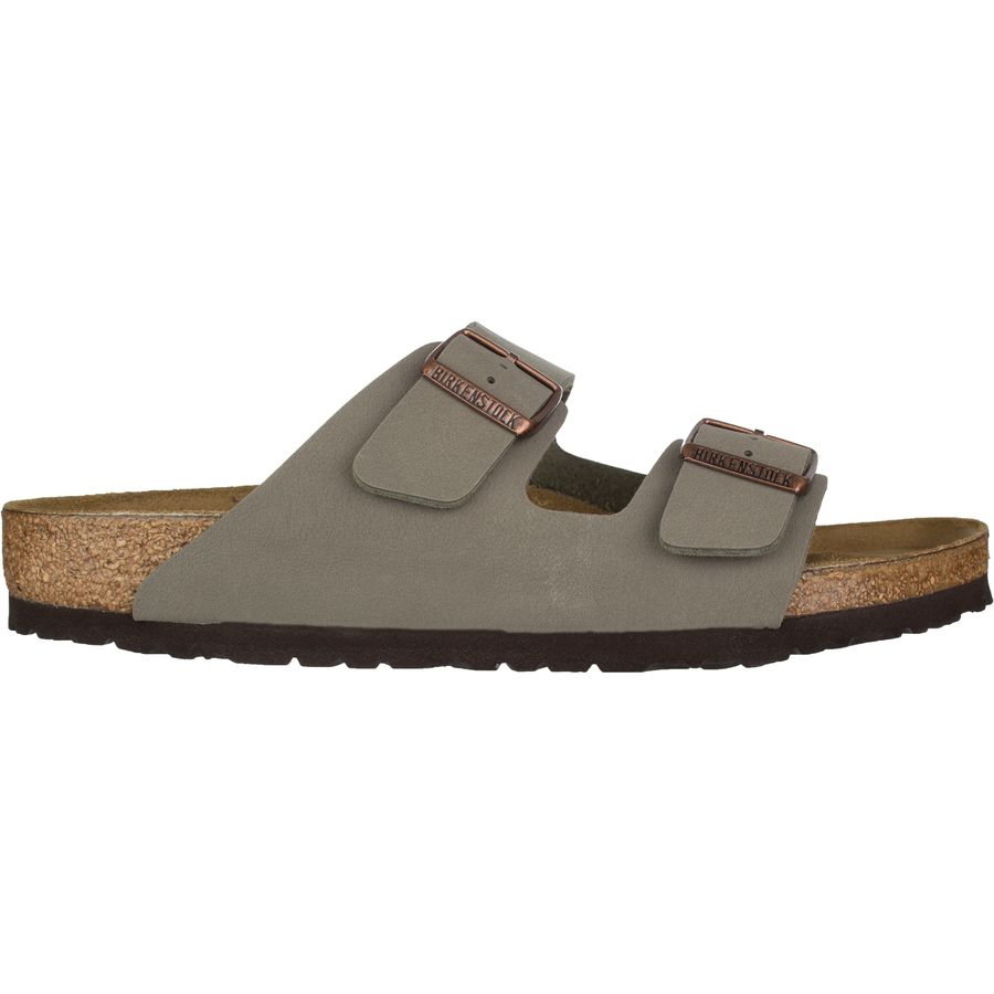 Birkenstock Arizona Black Synthetic Mens Buckle Sandals