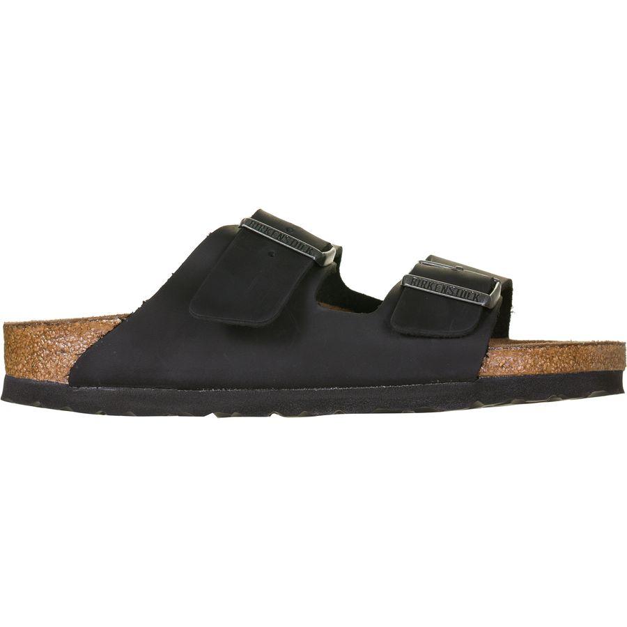 f1156ea5884 Birkenstock Arizona Soft Footbed Leather Narrow Sandal - Women's