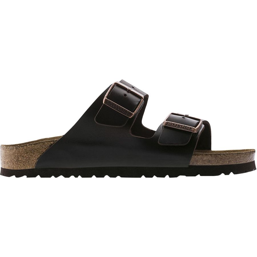 Birkenstock - Arizona Soft Footbed Leather Narrow Sandal - Women s - Brown  Amalfi Leather b9d2d6e52