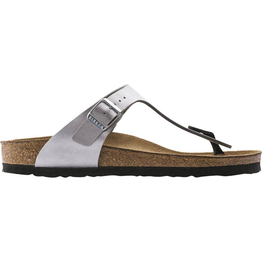 d3755cb2b5c Birkenstock - Gizeh Narrow Sandal - Women s - Silver Birko Flor