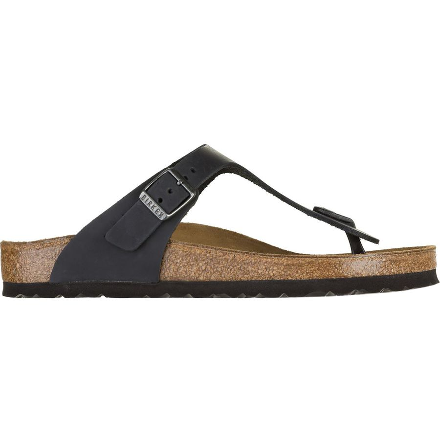 5e672b7f3b4e Birkenstock - Gizeh Leather Sandal - Women s - Black Oiled Leather