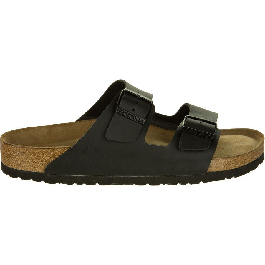 d9570077561 Birkenstock - Arizona Soft Footbed Sandal - Men s - Black Birko Flor