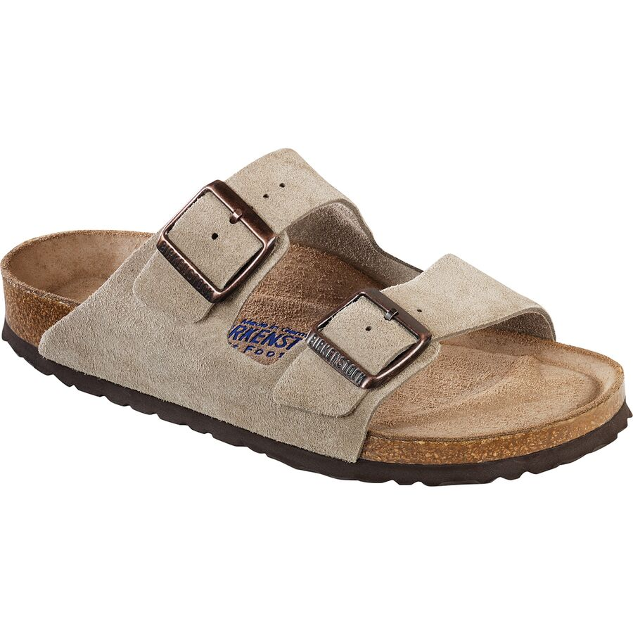 7261156416cf Birkenstock - Arizona Soft Footbed Suede Sandal - Women s - Taupe Suede