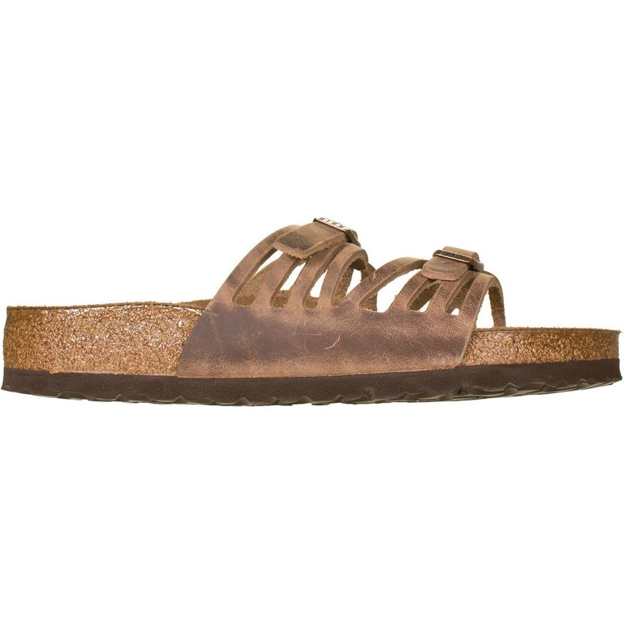 eee6a82d Birkenstock - Granada Soft Footbed Leather Sandal - Women's - Tobacco Oiled  Leather