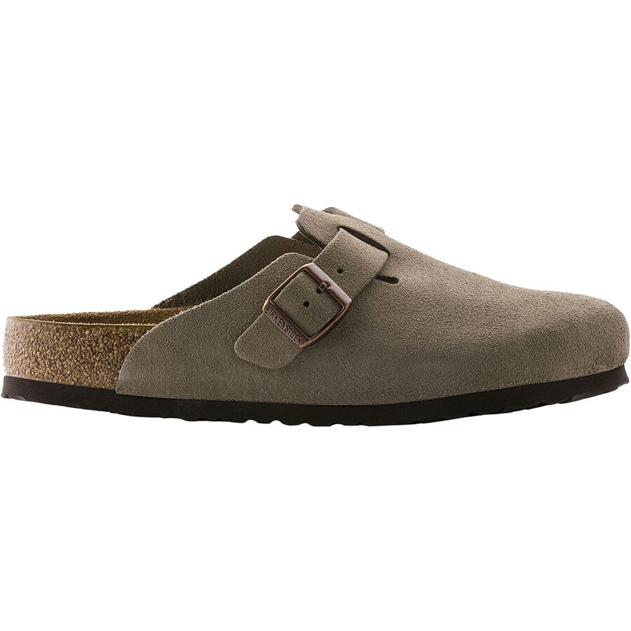 bf8e46ff891 Birkenstock - Boston Soft Footbed Suede Clog - Women s - Taupe Suede