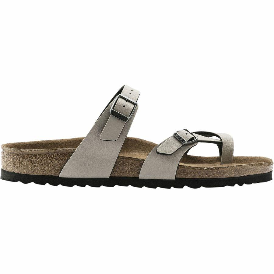 9194b5bfa06 ... Anthracite Pull Up Birko Flor. Birkenstock - Mayari Vegan Limited  Edition Sandal - Women s - Stone Pull Up Birko Flor