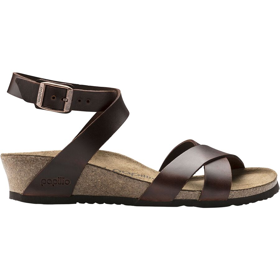 798470e6b7e Birkenstock - Lola Wedge Limited Edition Papillio Narrow Sandal - Women s -  Cognac Leather