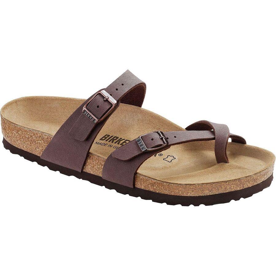 3069a97603a Birkenstock - Mayari Sandal - Girls  - Mocha Birkibuc
