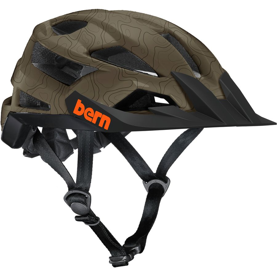 Bern - FL-1 XC Mountain Bike Helmet - Women's - Matte Earth Topo
