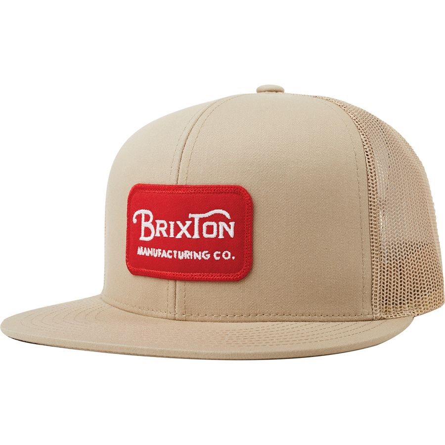 a2ad003f5b2 Brixton - Grade Mesh Cap - Khaki Khaki