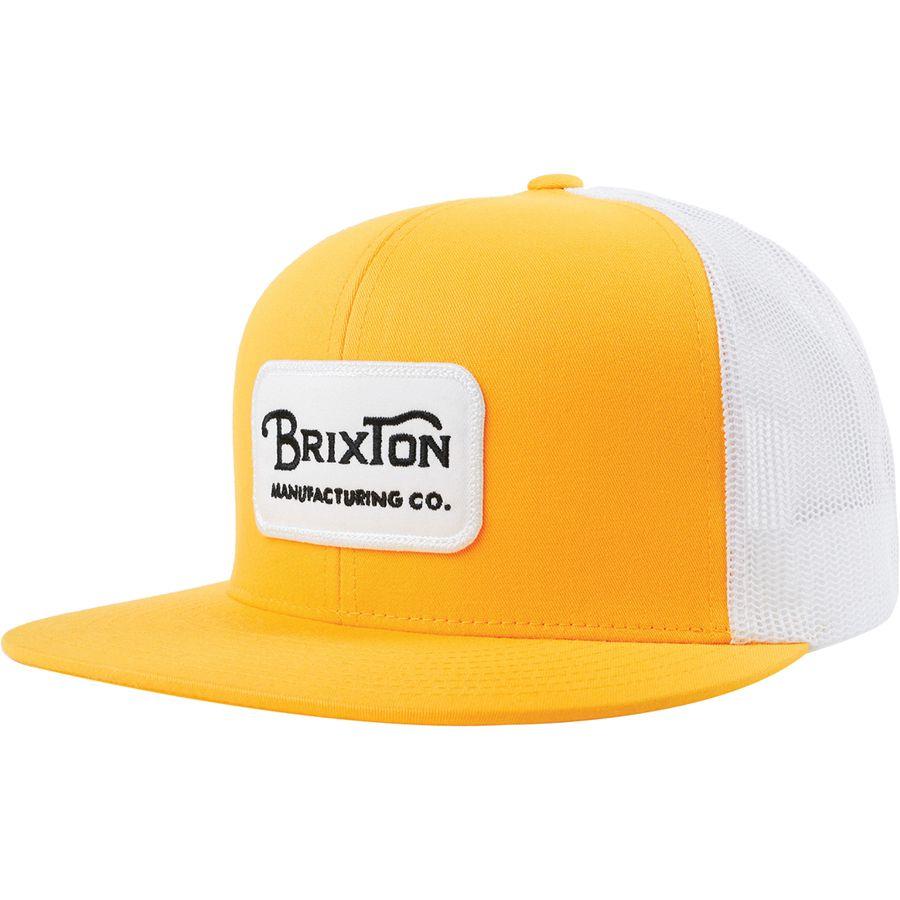 Brixton - Grade Mesh Cap - Nugget Gold 4f45874cb03d