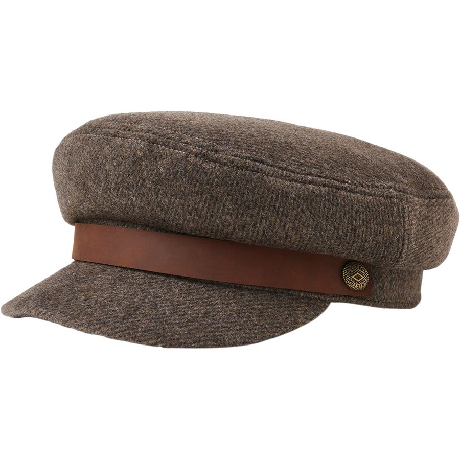 a0fbce969478b Brixton - Fiddler Hat - Brown Grey