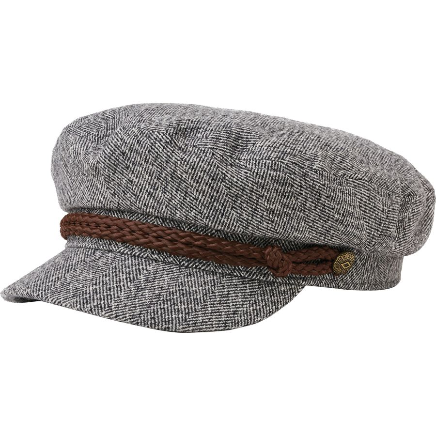 Brixton - Fiddler Hat - Heather Grey Cream c6065fb428ac