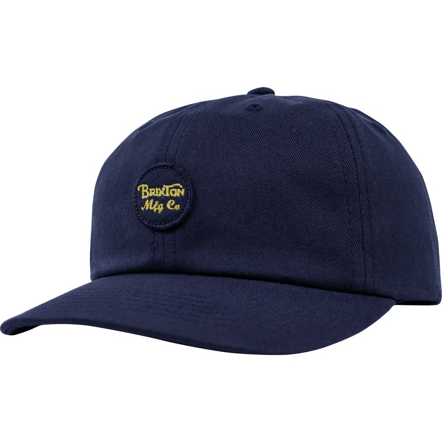 aab8e2cd281 Brixton - Wheeler Cap - Men s - Washed Navy