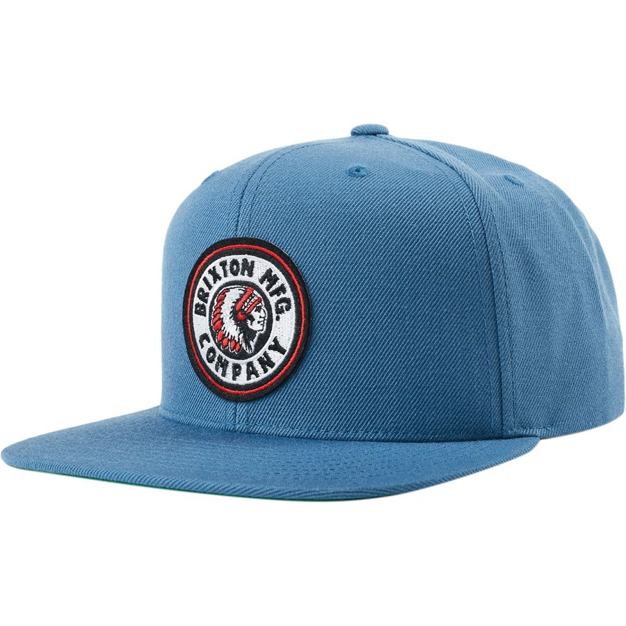 88ab40ca2a0b1 Brixton - Rival Snapback Hat - Men s - Orion Blue