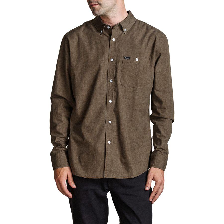 Brixton Central Woven Long-Sleeve Shirt - Mens