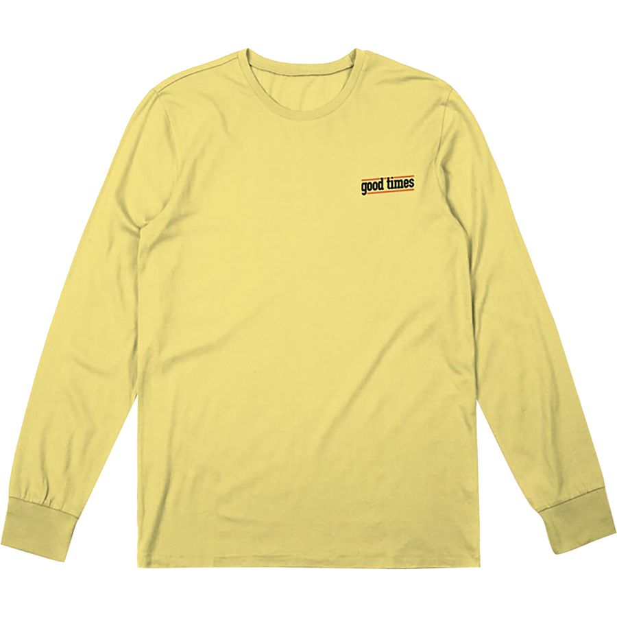 Brixton Times Long-Sleeve Premium T-Shirt - Mens