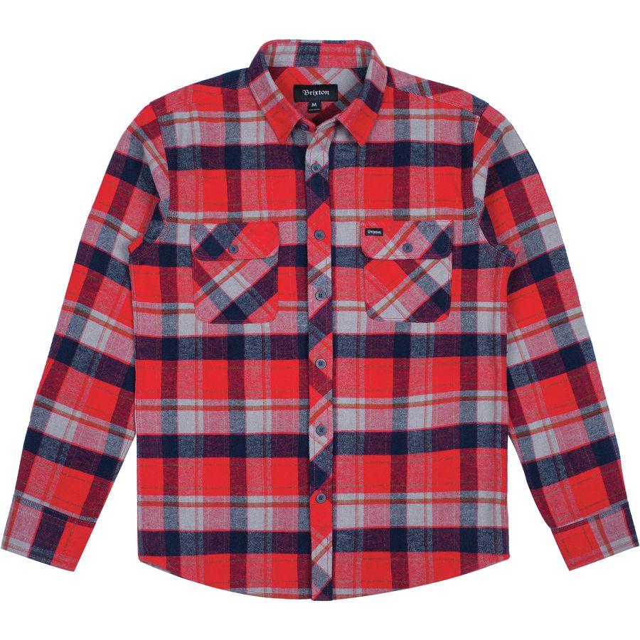 Brixton Bowery Flannel Shirt - Mens