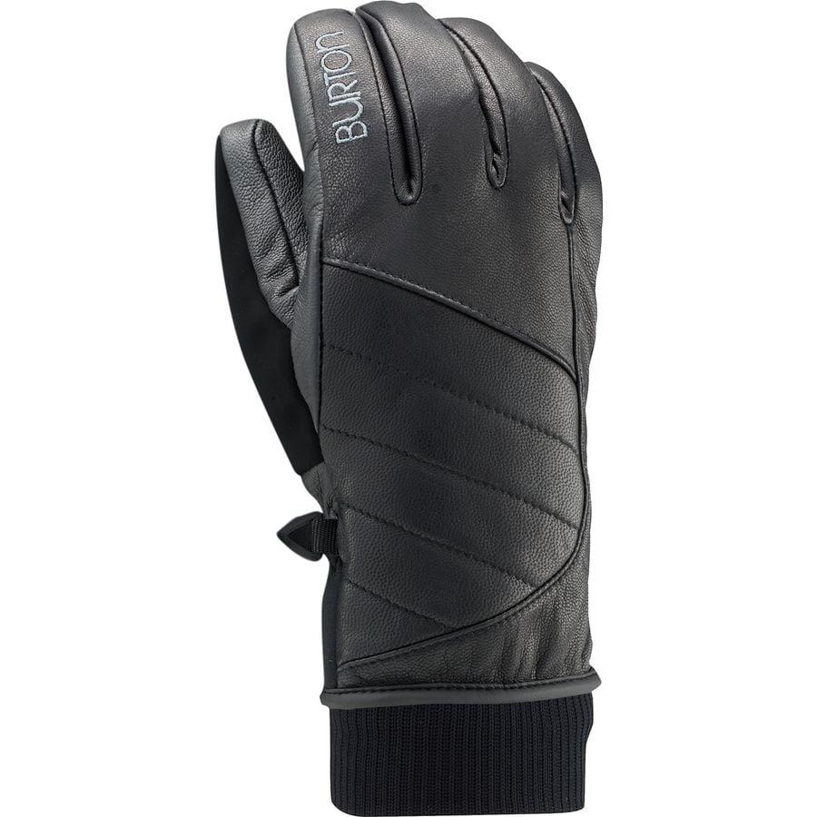 Osprey womens leather gloves - Burton Favorite Leather Glove Women S True Black