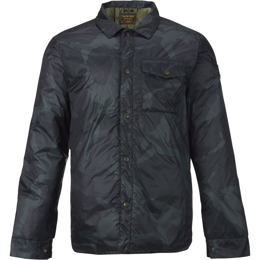 Burton Wayland Down Shirt Jacket - Mens