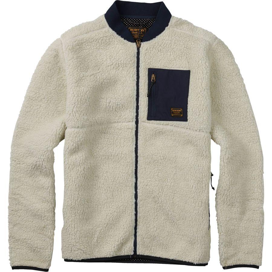 Burton Grove Full-Zip Fleece Jacket - Men's | Backcountry.com
