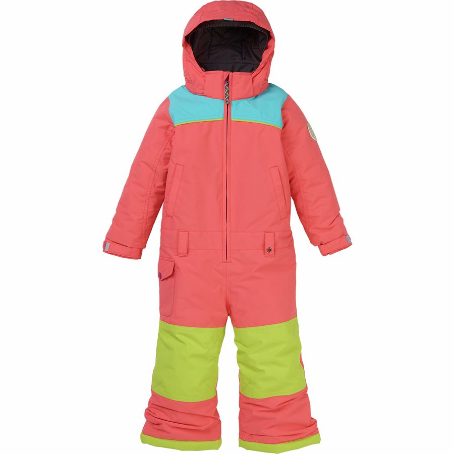 e095d7cc3 Burton MiniShred Illusion One Piece Snow Suit - Toddler Girls'