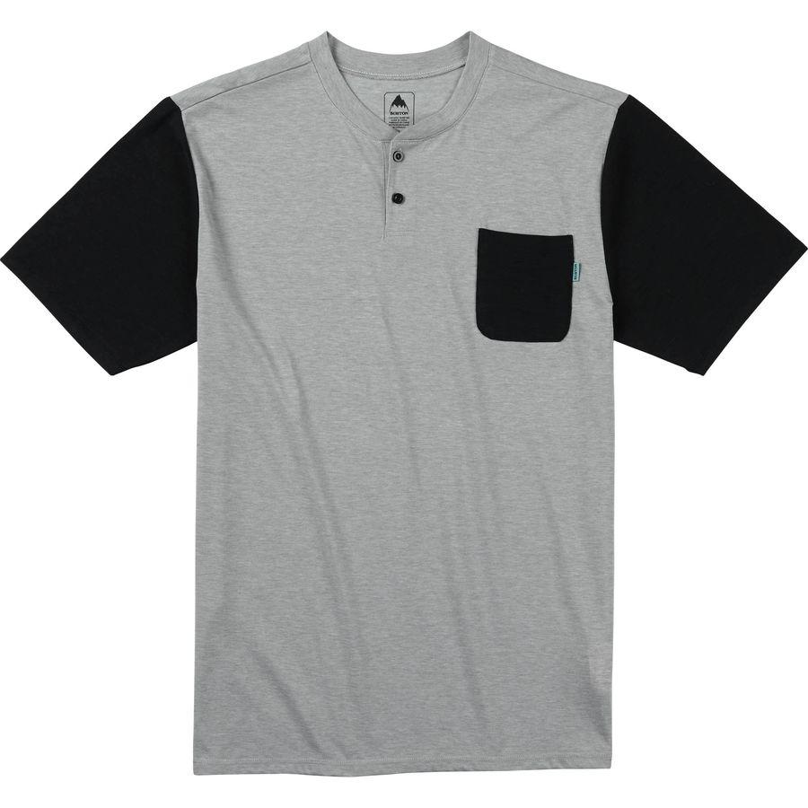 Burton Bradley Henley Shirt - Mens