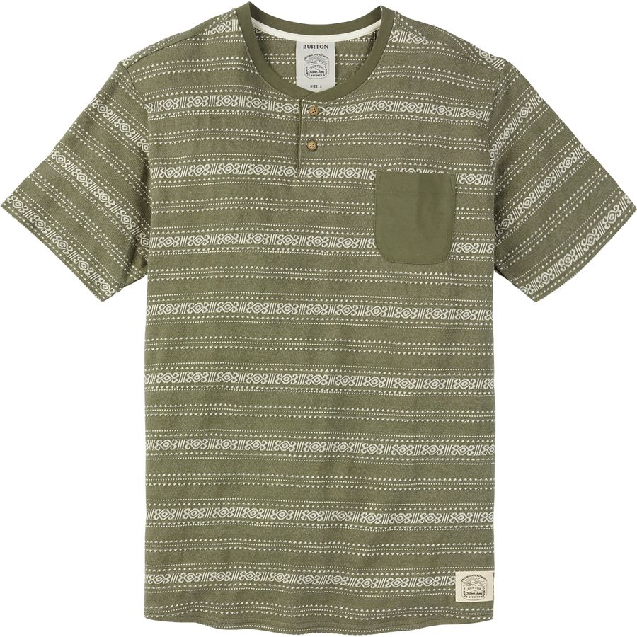 Burton Dwight Short-Sleeve Shirt- Mens