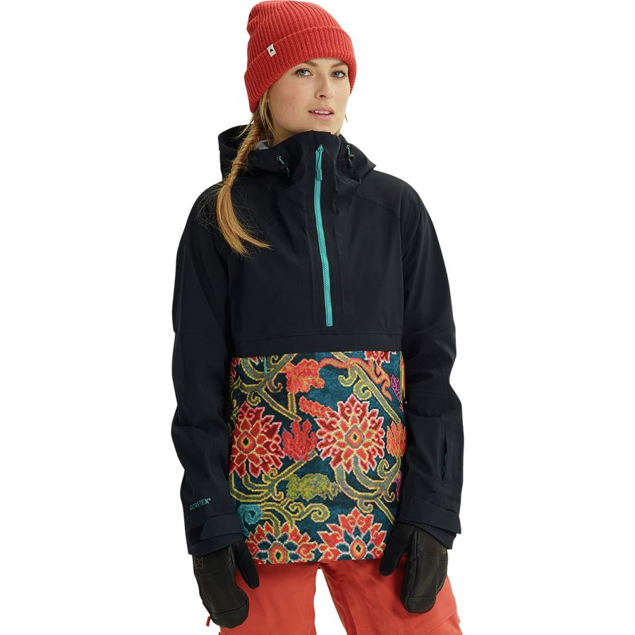 Burton - AK Gore-Tex Kimmy Anorak Jacket - Women s - True Black Luca 598ade202