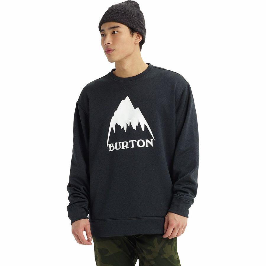 Burton Oak Crew Herren-Pullover Crewneck Sweatshirt Sweater Mid Layer Midlayer