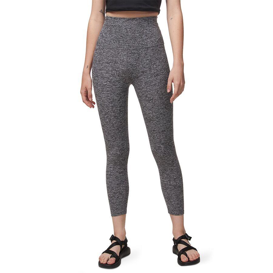 98239166b66821 Beyond Yoga - Spacedye High Waist Capri Leggings - Women's - Black/White