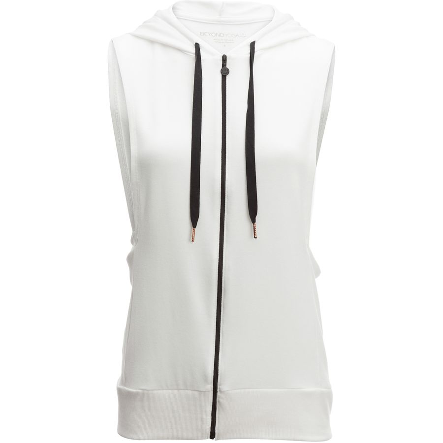 Beyond Yoga Vest Behavior Full-Zip Hooded Sweatshirt - Womens