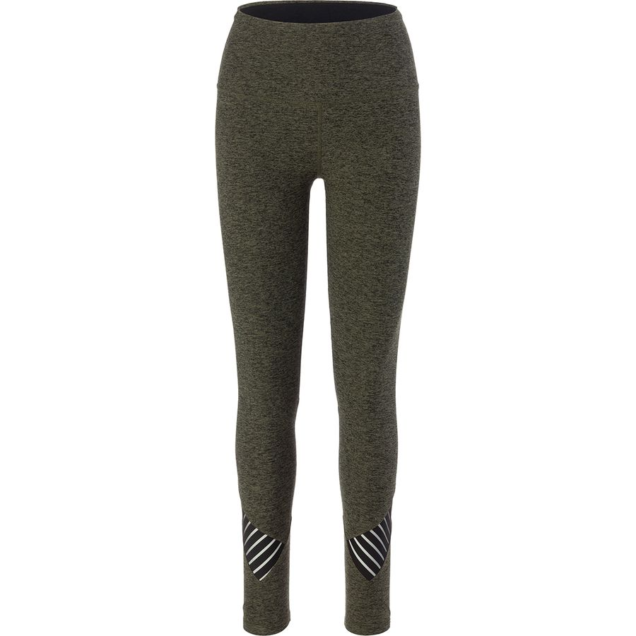 Beyond Yoga Spacedye Stacked And Sliced High Waisted Midi Legging - Womens