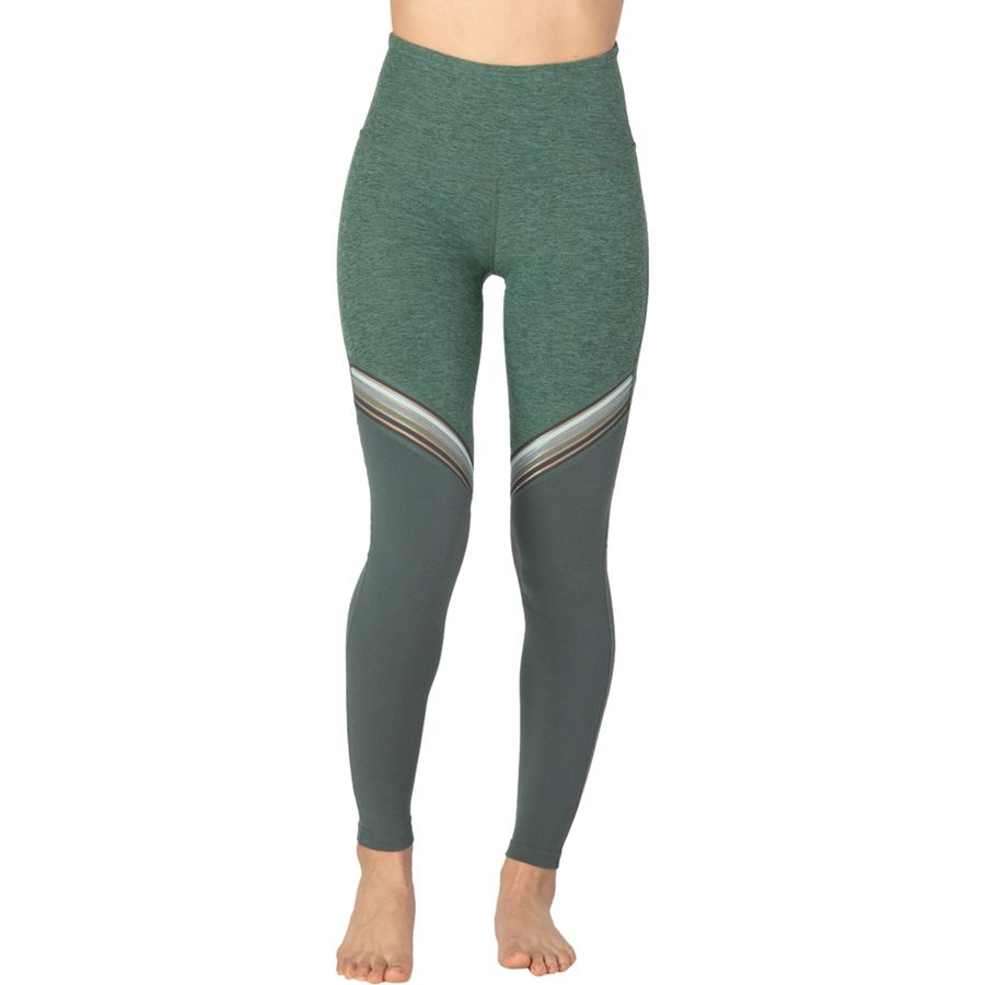 7f30b5364532f Beyond Yoga - All The Filament High Waisted Long Legging - Women's - Aloha  Green/